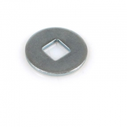 Washer, square hole inside