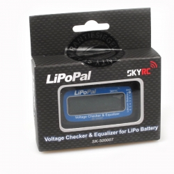 Akku Checker LipoPal for LiPo 2-6s with LCD Display