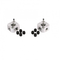 Wheel square 9mm (set)