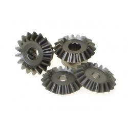 Set diftandwielen met rechte vertanding (4 st)