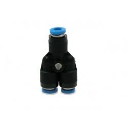 Y connector air tube