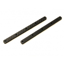 Carbon Chassis Braces Traxx