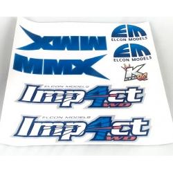 MMX / IMP4CT Sticker set