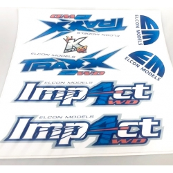 TRAXX / IMP4CT Sticker set...
