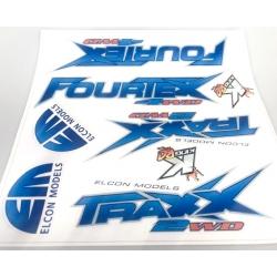TRAXX / FOURTEX Sticker set...