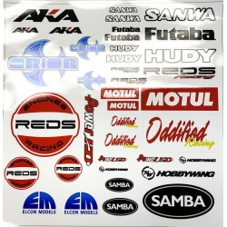 Elcon Models Decal Sheet