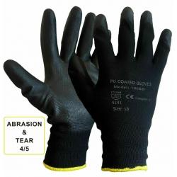 BLACK COATED SAFETY WORK...