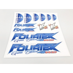 Fourtex Gunn Ed Sticker set