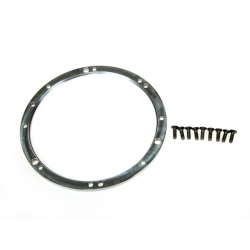Outer clamping ring air brake