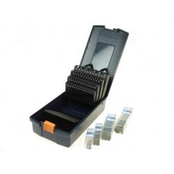 Borenset (51st , 0.1mm oplopend) met casette