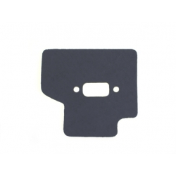 Exhaust gasket with heat shield