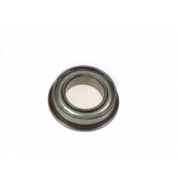 Flanged bearing for steering plate