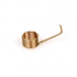Spring for spark plug cap